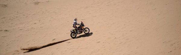 Despres com sua KTM vence o Rally Dakar 2013