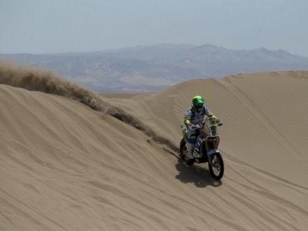 Muita areia e dunas na etapa deste domingo no Rally Dakar