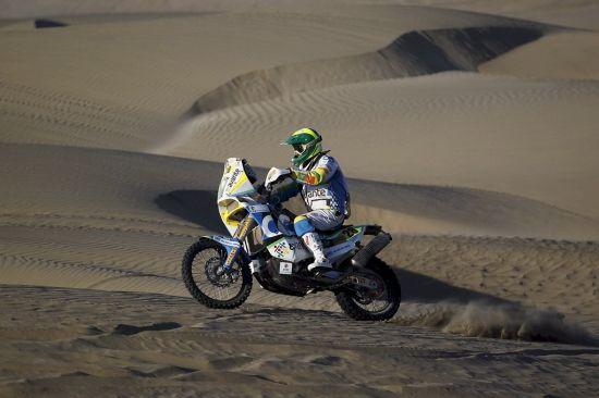 Até agora a paisagem não mudou no Dakar 2013, só areia e dunas