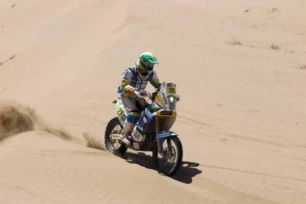 O dia de hoje foi dureza para os competidores no Deserto de Atacama