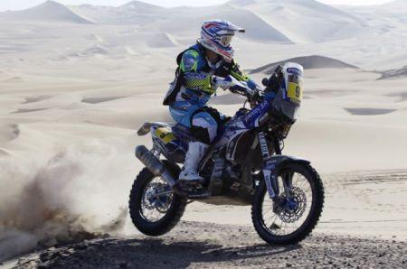 O francês Olivier Pain, atual líder do Rally Dakar 2013