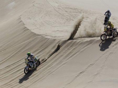 Até agora, 3 dias de dunas e areia no Rally Dakar 2013
