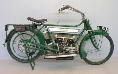 Modelo de 425cc lançado em 1913 - foto by Wikipédia