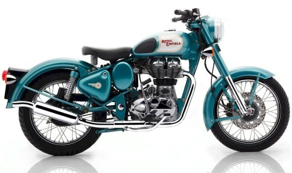Royal Enfield modelo Classic Green de 2012