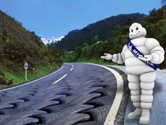 Michelin reciclará os pneus utilizados no Dakar