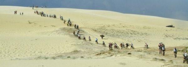 O Rally de Bikes terá aproximadamente 400 quilômetros