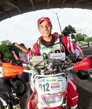 Dário Júlio é piloto Honda no Piocerá 2013