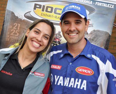 Sabrina Katana e Guilherme Cascaes tem patrocínio da Rinaldi