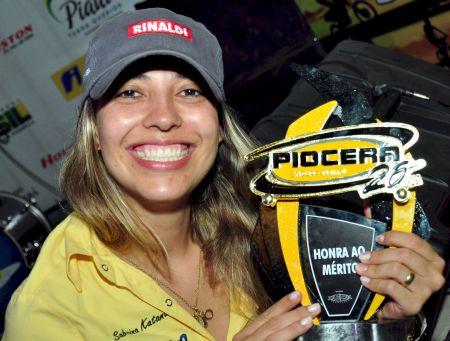 Sabrina Katana, 11ª colocada na categoria Júnior