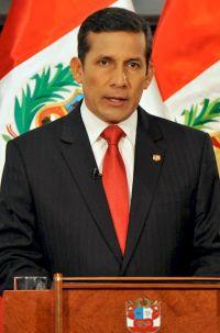 Ollanta Humala Tasso, presidente peruano (foto do site da Presidência do Peru)