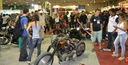 Motos para todos os gostos estavam expostas no evento