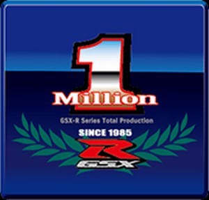 Logotipo da edição comemorativa da milionésima GSX-R produzida