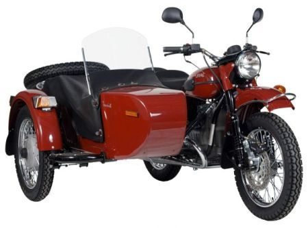 A Ural mantêm-se fiel ao modelo original há mais de 70 anos