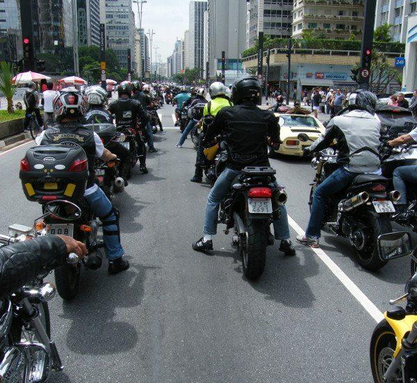 Grupo circulou pela Avenida Paulista