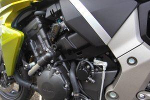 Motor da CB 1000 faz parte do chassi