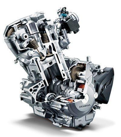 Motor com muitas características para alta eficiência