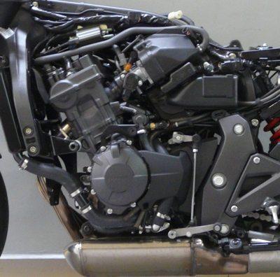 Motor da CBR: projeto para maior potência e esportividade