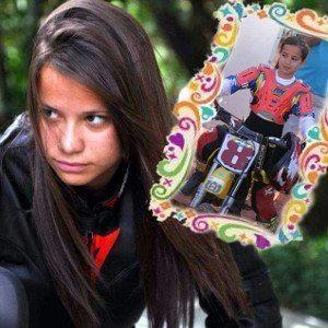 Sabrina Paiuta corre desde os 7 anos e já tem diversos títulos de campeã