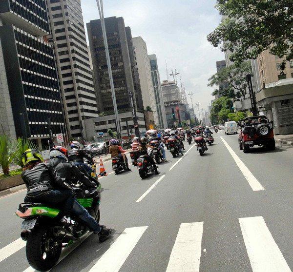 Invadimos a avenida Paulista / Foto: Miriam Gleice