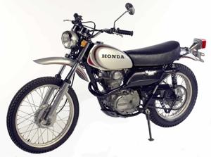 XL250 S de 1973