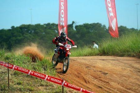 A Equipe ASW Enduro Team satisfeita com o resultado de seus pilotos na Copa EFX Honda ASW