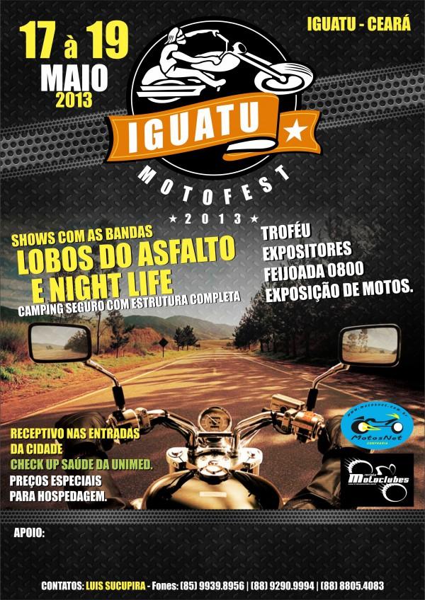 Você pode visitar os destinos descritos na série de matérias quando vier para o Iguatu MotoFest!
