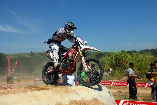 Rômulo Bottrel, o grande vencedor da 1ª etapa da Copa EFX Honda ASW de Enduro 2013