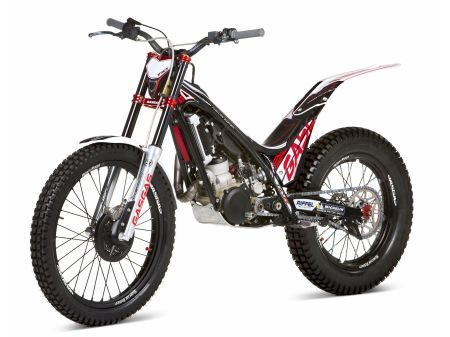 Moto Gas Gas TXT 300 Raga Réplica, específica para o trial, esporte ainda pouco praticado no Brasil