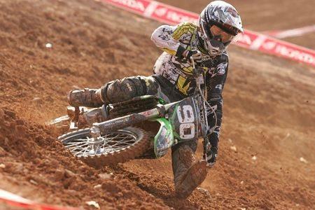 Gustavo Henn comemora seu retorno ao Brasileiro de Motocross