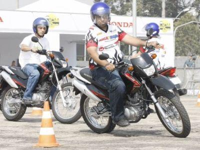 135 mil motociclistas foram passaram pelo Centro de Treinamento da Honda em 2012