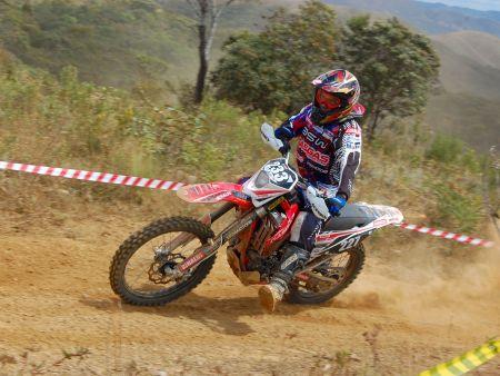 Lipão Rosendo é piloto da Gas Gas Racing Team