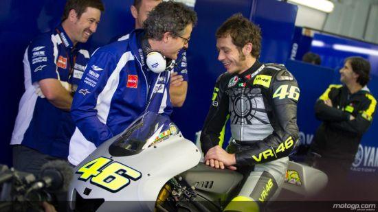 A alegria volta a estampar o rosto de Rossi