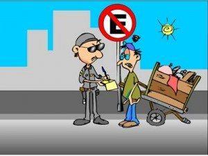 No trânsito, a regra básica é o bom senso
