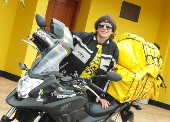 Suzane rodou mais de 5000 km com uma Nonda NC 700X