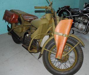 Modelo Harley-Davidson XA, com motor de 2 cilindros horizontais opostos - foto by Wikipédia