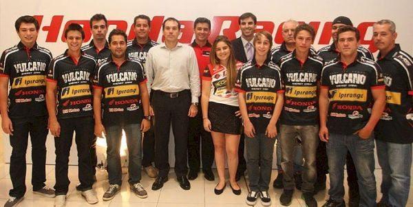 Equipe Vulcano Ipiranga IMS de motocross