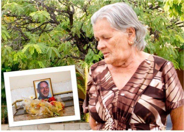 Dona Maroca, 81 anos - a sua secretária e 'braço direito e esquerdo'.