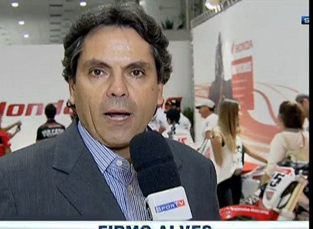 Firmo Alves falou com exclusividade ao Sportv