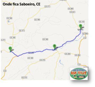 Iguatu(A) - Jucás(B) - Saboeiro(C) - 81 km