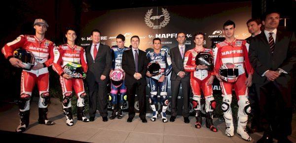 Apresentação dos 6 pilotos do Aspar Team, incluindo o brasileiro Eric Granado