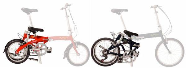 Modelos Commuter e Jump, dobráveis; o fabricante assegura que cabem em qualquer porta-malas