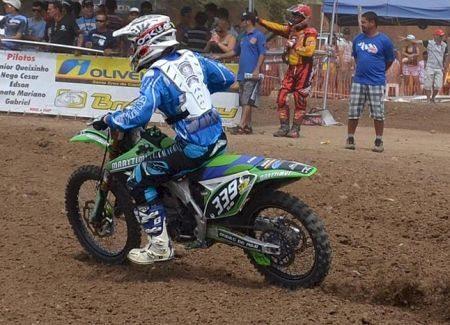 Raí Arruda, vencedor da MX2 na Copa Sertão em Pernambuco