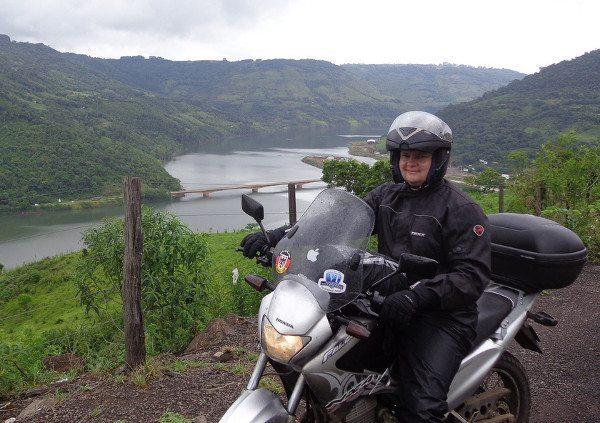 Evandro e sua Falcon pelo Sul do Brasil