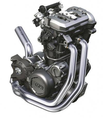Motor da BMW F800 GS é muito compacto e conta com um sistema de balanceamento especial