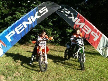 Gustavo Yudi # 930 e Gustavo Henn #90 integram a nova equipe Penks Racing em 2013