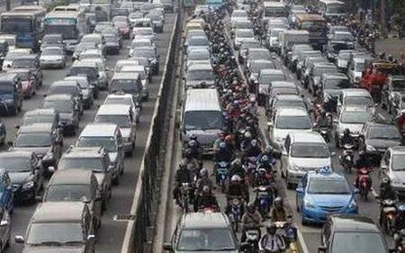 As ruas são insuficientes para tantos veículos