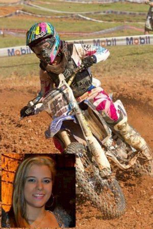 Luana Abreu é presença feminina confirmada no mineiro de motocross