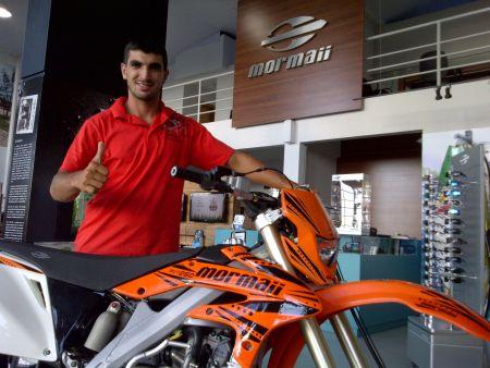 Luciano Batista agora é piloto Mormaii