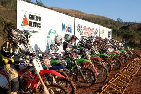 Abertura do Campeonato Mineiro de Motocross será realizada neste final de semana em Bonfim