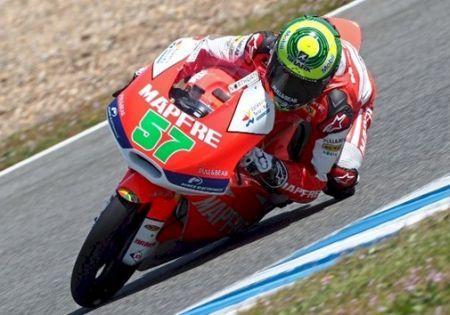 Granado sai de Jerez com o oitavo melhor tempo